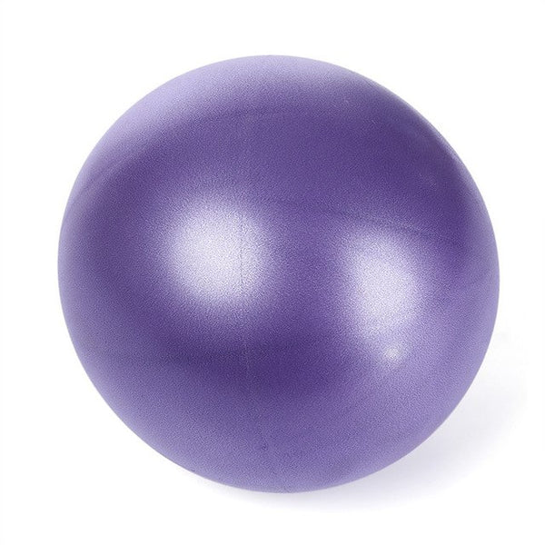 Mini Yoga Ball 25cm PVC Thickened Air Inflation Anti-Explosion Yoga Ball Fitness Equipment for balance Ball home trainer