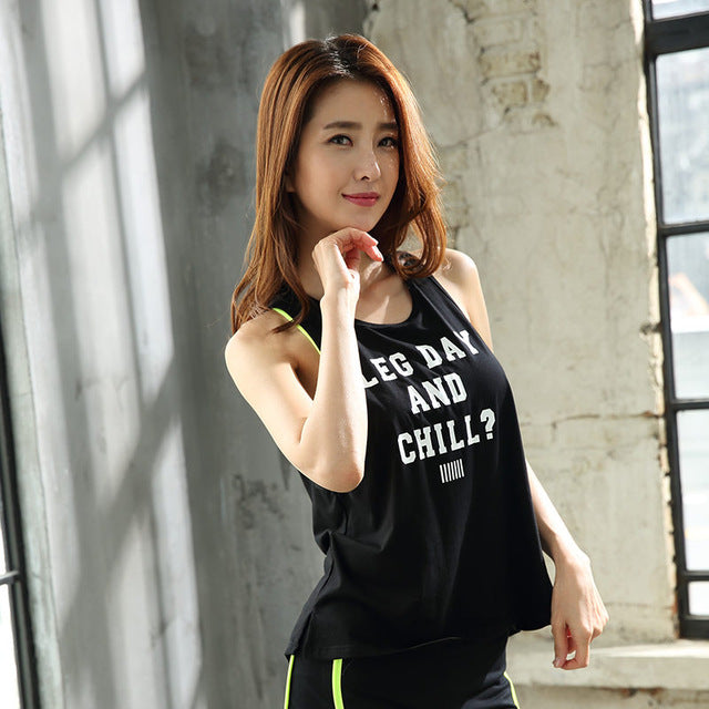Yoga Shirts Women Quick Dry Sweat Breathable Fitness Sports T-shirt Sleeveless Patchwork Gym Tees Yoga Running Tops yoga shirt
