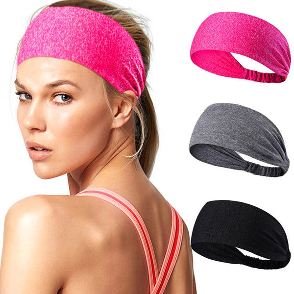 Yoga Hair Band men Turban Head Wide Elastic headwrap