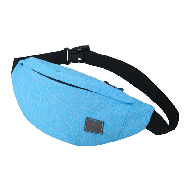 Men's Waist Bag Sports Outdoor Recreation Waterproof Shoulder Messenger Chest Bag