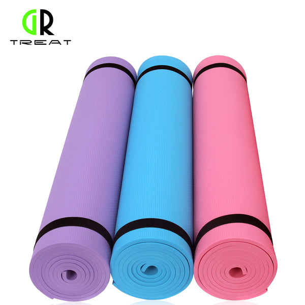 GR Treat Yoga Mat Non-slip Yoga Mat 6mm Yoga Cushion Fitness Mat Yoga