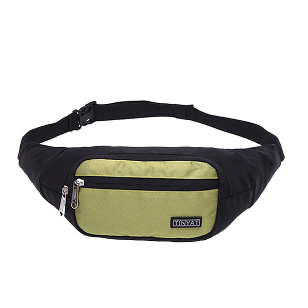 Waterproof Sports Waist Pack Workout Fitness Waist Band Belt Bag for Outdoor Sports Walking Cycling Traveling