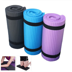 Non-Slip Yoga Knee Pad  Gym Soft Pilates Mats Foldable Pads Indoor Body Building