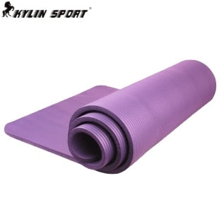 NBR single  yoga mat  yoga mat yoga mat carpet cushion Nap Mats Fitness supine   genuine special offer free shipping