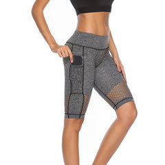 Yoga Pants Leggings Side Mobile Pocket Pant  Training