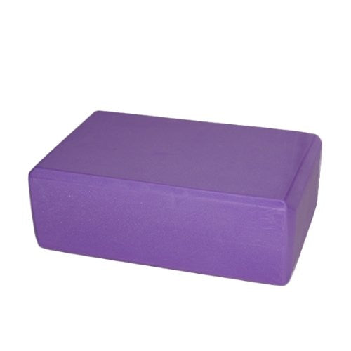 Super sell Yoga block foam for exercise fitness healthy life - purple