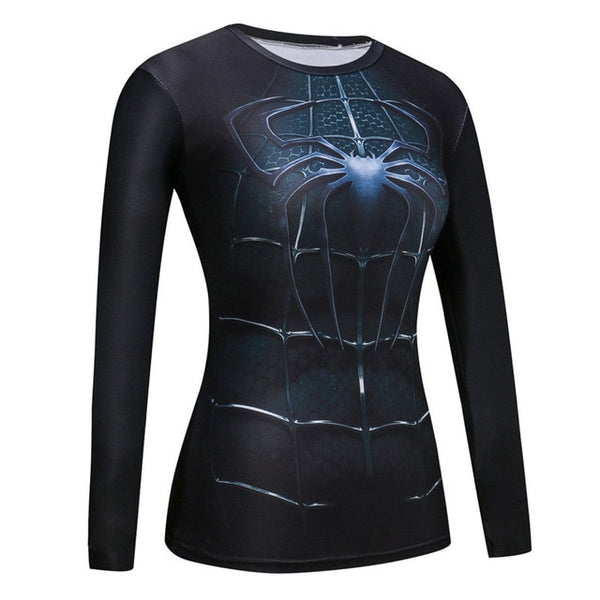 Sports Long Sleeve Tshirt Women Yoga Top Sport Fitness Compression Shirt Women T-shirt Tight Workout Running Girl Yoga Shirt