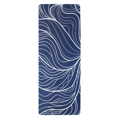 Printed eco friendly yoga mat wholesale