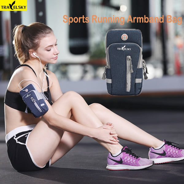 Sports Running Armband Bag Case Cover Running armband Universal Waterproof Sport mobile phone Holder Outdoor Sport Phone Arm bag