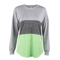 Long Sleeve 3 mix color Yoga Shirt