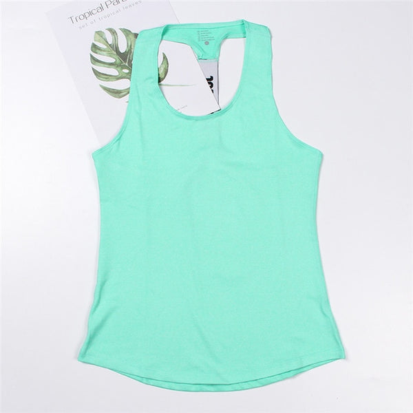 Professional Yoga Top Vest Sleeveless Sport Shirt Women Running Gym Shirt Women Sport Jerseys Fitness Yoga Shirt Tank Top
