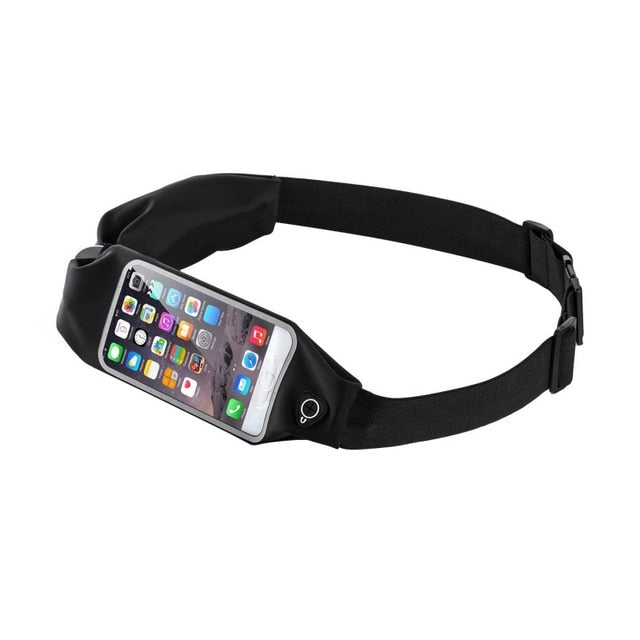 Home Casual Unisex Led Waist Bag Waterproof Shine Night Running Usb Pouch Pockets Exercise