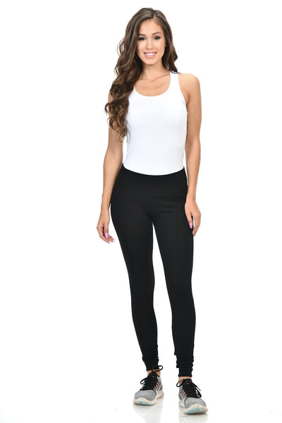 Diamante Women's Power Flex Yoga Pant Legging Sportswear - P162023