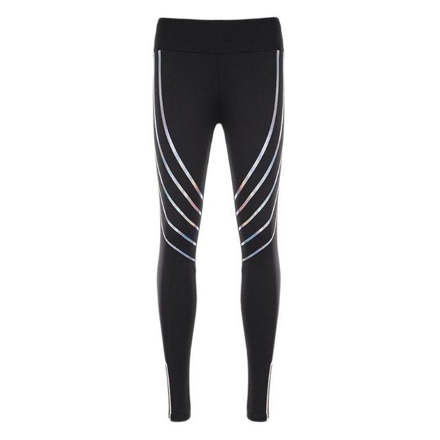 Yoga Pant Womens Nightlight Tights Running Leggings Sports Pants Female Women Gym Running Mesh Workout Fitness Yoga Pants