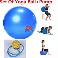 Yoga Ball And Pump Set