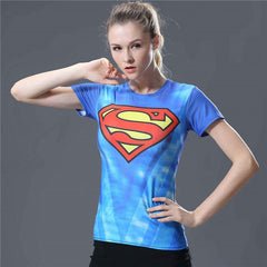 Compression Shirt Women Yoga Shirt