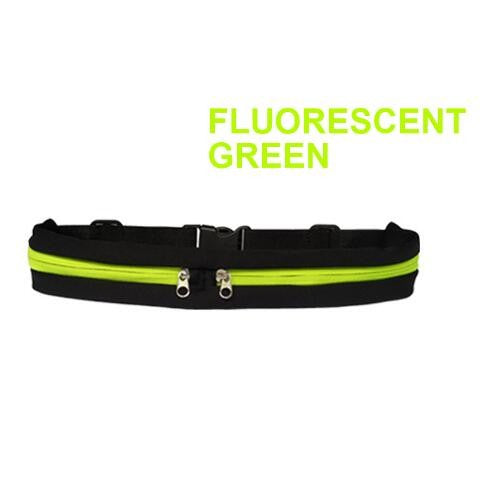 Fashion Travel Running Waist Pocket Jogging Sports Portable Waterproof Cycling Bum Bag Outdoor Phone Fanny Pack Belt Sport Bag