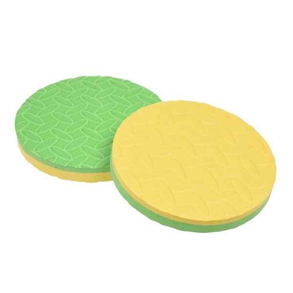 Professional Yoga Workout Knee Pad Cushion Round Workout Foam Pad Cushion For And Plank Yoga Mat Pack Of 2