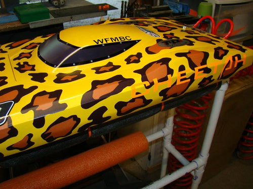 Cheetah TFL Catamaran Windshield