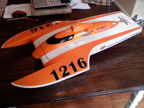 Phil Thomas Stealth Hydroplane Windshield