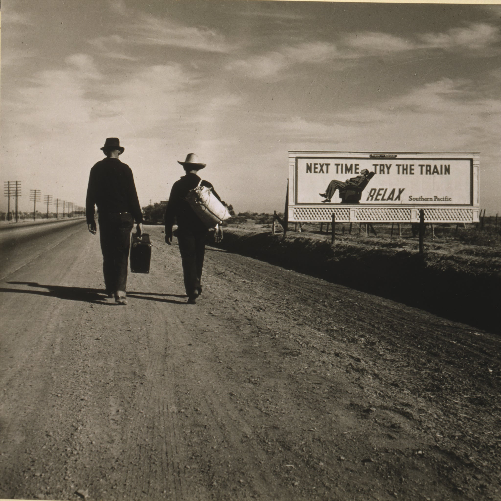 Towards Los Angeles, 1937