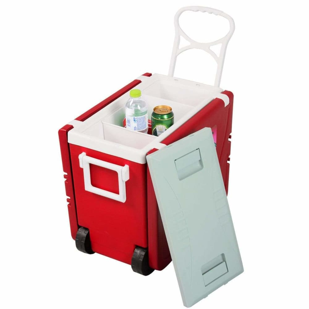 Multi function rolling cooler picnic table - Lucile Shop
