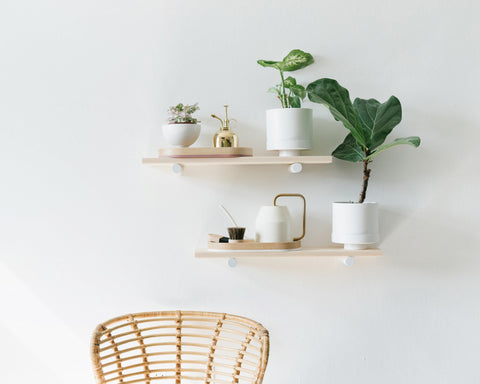 Loop Living Floating Shelves