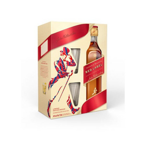 Johnnie Walker Red + Vasos