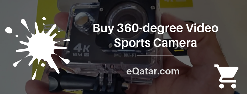 Buy 360-degree Video Sports Camera | eQatar.com