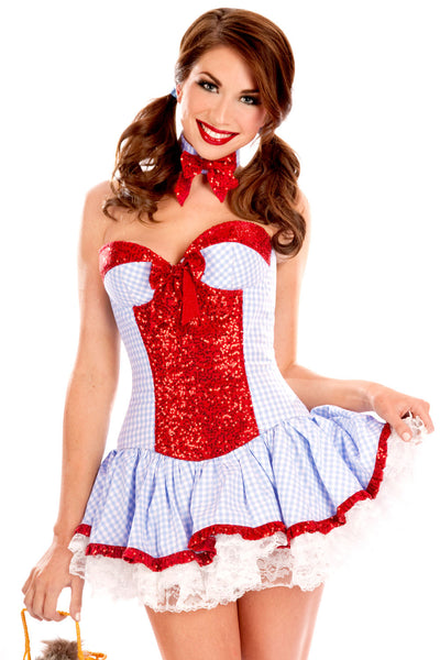 Sweet Sequined Country Girl Costume