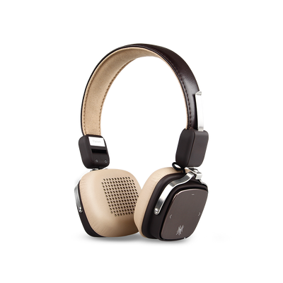 OneOdio Bluetooth 4.1 Wireless On Ear Headphones, 30 Hours Playtime, Super Comfort For Long Time Wearing, Noise Cancelling Headphones With Mic, Support Wired Use (brown-beige)