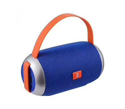 T&G 112 Handsfree Cloth Art Bluetooth Speaker Two Horns 95db Tf Card FM Radio Micro Usb 1200mah