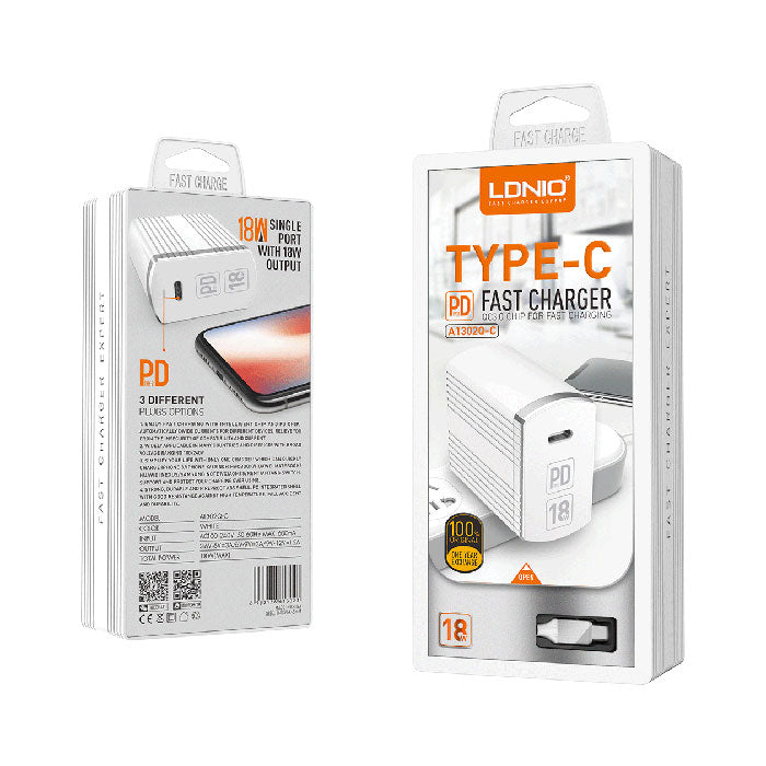 LDNIO A1302Q-C 1USB WALL CHARGER