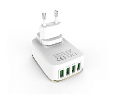 LDNIO A4404 Portable Phone Travel Wall Charger
