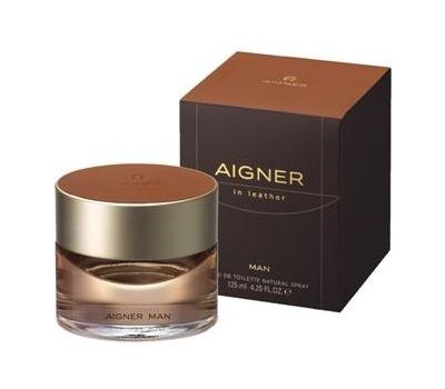 AIGNER IN LEATHER MEN EDT 125ML