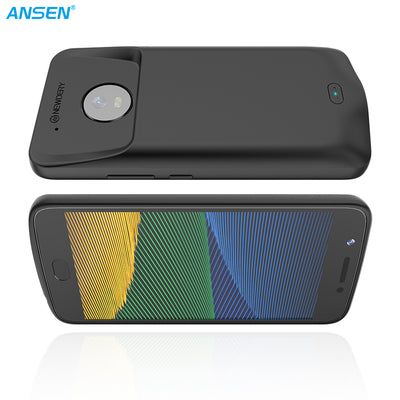 ANSEN POWER CASE FOR MOTO G5 3800MAH BATTERY CHARGER CASE FOR MOTOROLA G5 PLUS