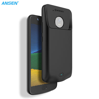 ANSEN Power Case for Moto G5 Plus 3800mah
