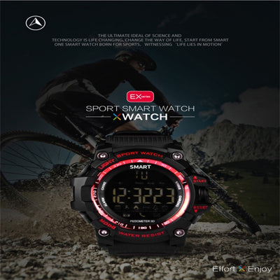 EX16 Bluetooth 4.0 Smart Watch, IP67 Waterproof, Support Sport Monitoring, Data Analysis