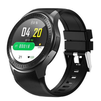 DOMINO DM368 PLUS 1.3 inch IPS Screen Smart Watch, 1GB +16GB, Support Heart Rate Monitoring