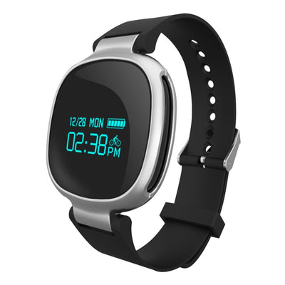 E08 0.96 inch Screen Bluetooth 6-axis Light Sensor Smart Bracelet, Support Heart Rate Monitor