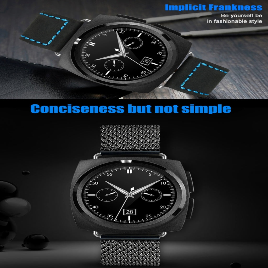 A11 Metal Strap Bluetooth Smart Watch, Heart Rate, Pedometer, Sleep Monitor, Sedentary Reminder