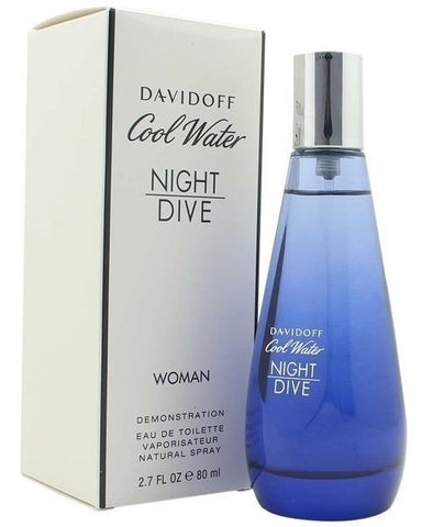 Davidoff Cool Water Night Dive Women EDT 80ml (Tester)