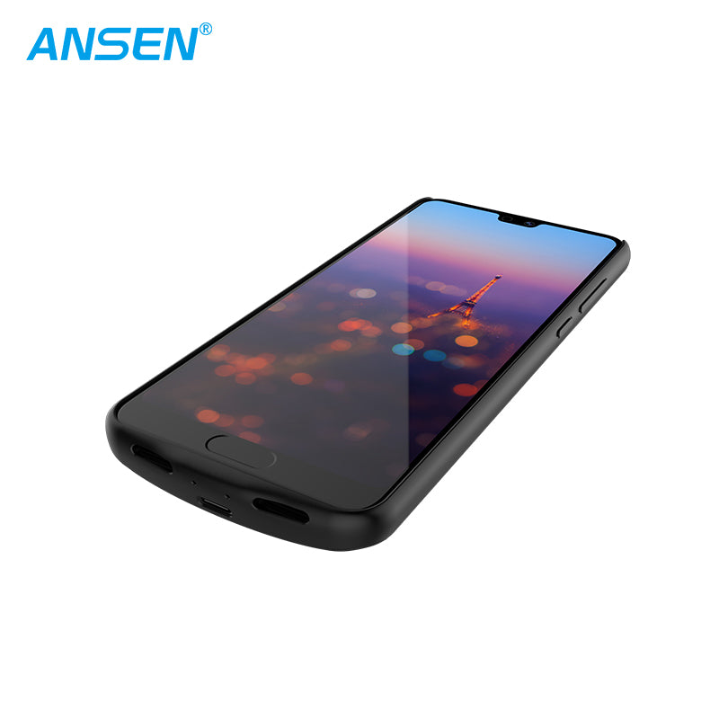ANSEN HUAWEI P20 6000MAH HIGH CAPACITY POWER CASETPU+PC CHARGING PHONE COVER FOR P20