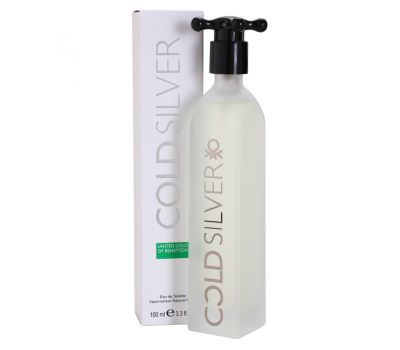 BENETTON COLD SILVER  EDT 100ML