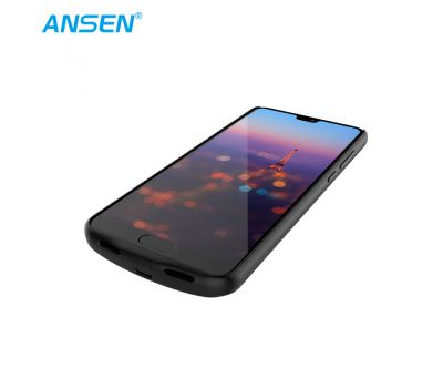 ANSEN SLIM POWER CASE FOR HUAWEI P20 PLUS 3600MAH BLACK FAST CHARGING CASE