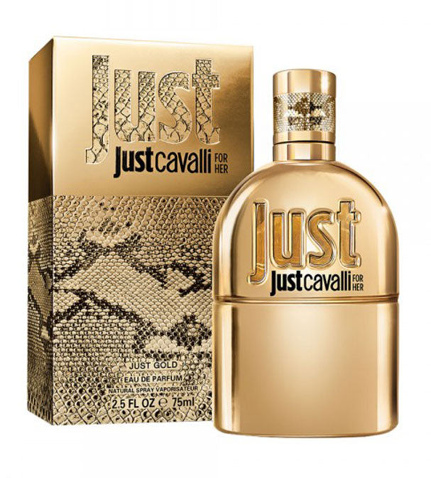 ROBERTO CAVALLI JUST CAVALLI GOLD WOMEN EDP 75ML