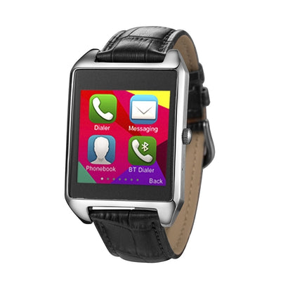 Atongm W013 1.6 inch 2.5D Tough Screen Android 4.3 OS BT Smart Watch, Support Heart Rate Monitor