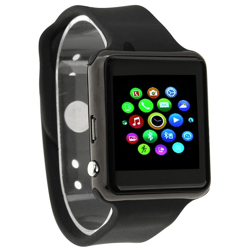UA8 Scratch Resistant SmartWatch 1.54 inch Capacitive Touch Screen Watch Phone, Support 2.0MP Camera