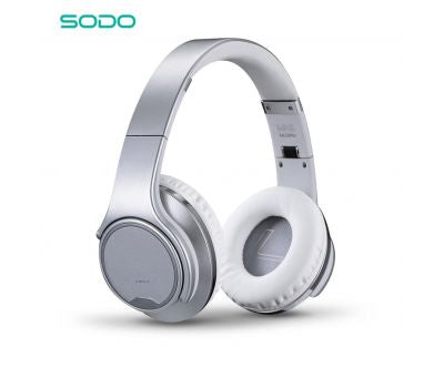 SODO MH1 Flip to Powerful Speaker Bluetooth Headphone Micro Sd Card, Aux-In Cable, Bluetooth, NFC