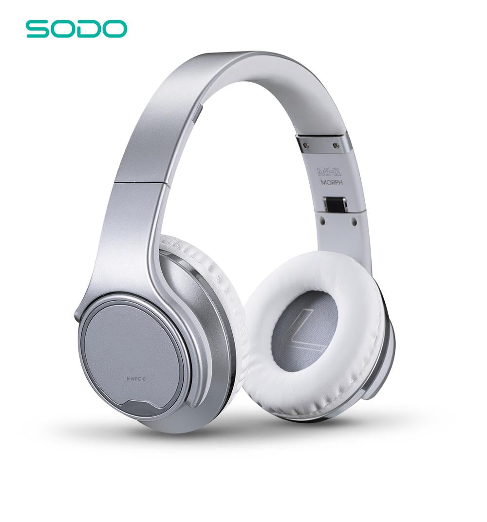 SODO MH1 Flip to Powerful Speaker Bluetooth Headphone